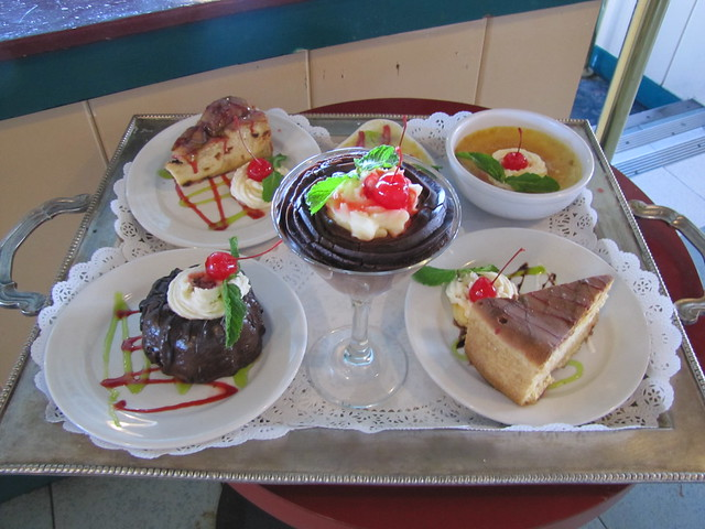 Desserts at Big Fish Grill