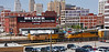 Union Pacific  GE AC44CW 6517 & EMD SD70M 4015 pull a train of Auto Racks by gg1electrice60