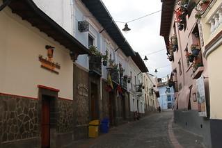 La Ronda, Quito, Ecuador.