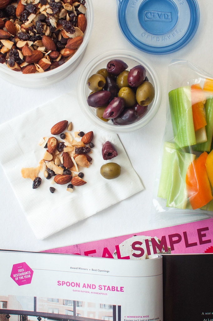 Homemade trail mix and 9 more gluten-free, vegetarian travel snacks