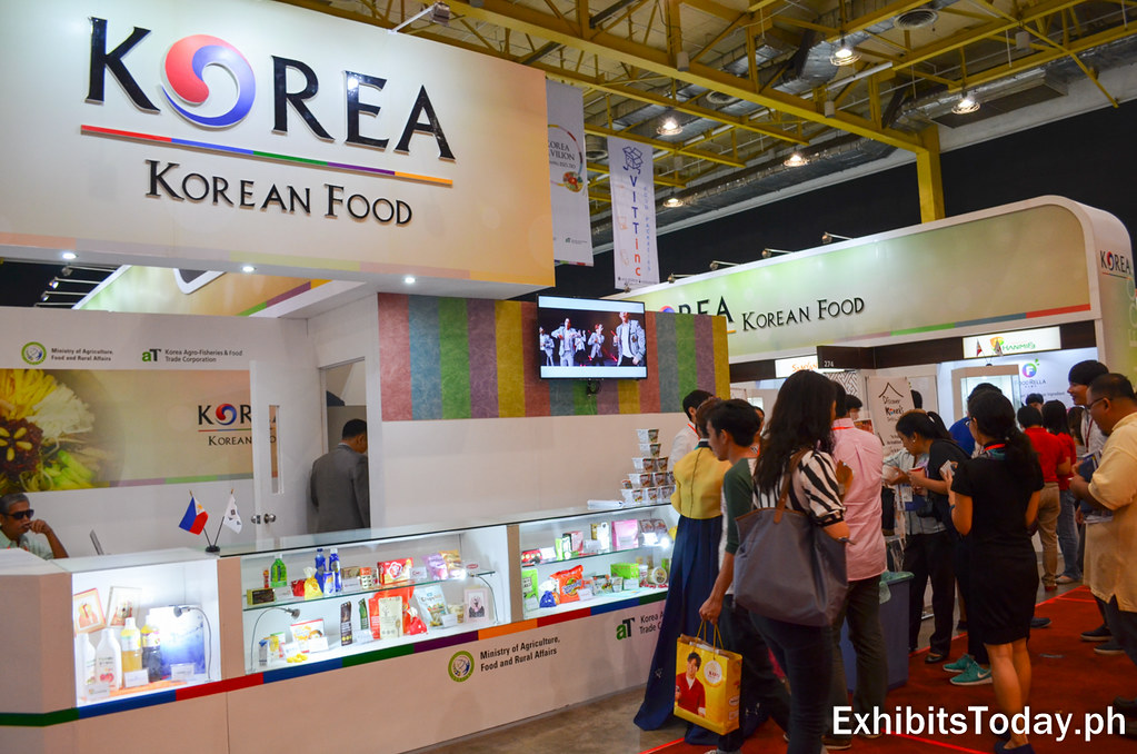 Korean Food Pavilion