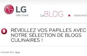 Réveillez nos papilles avec notre sélection de blogs culinaires - LG Blog