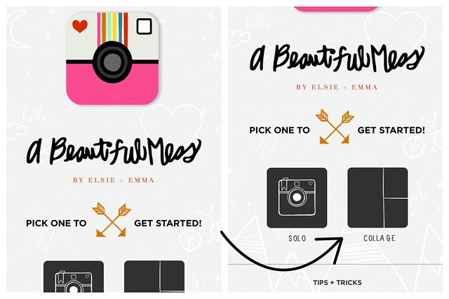 a beautiful mess app for pocket scrapbooking // project life