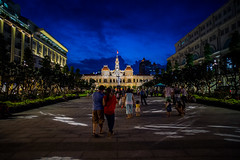 Ho Chi Minh City Hall also known as Ho Chi Minh Square