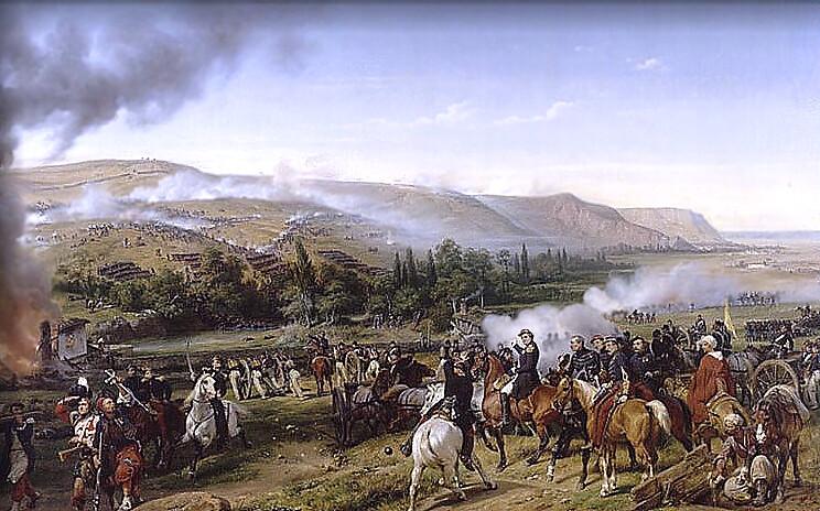 Battle of Alma by Horace Vernet