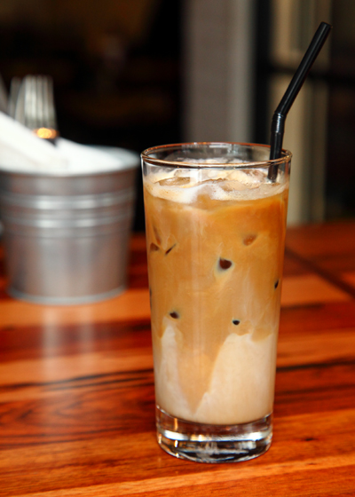 Buns Burger Bar Iced-Latte