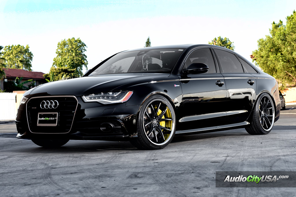 Audi A6 3 0 Supercharged On 20 Quot Lexani R Twelve Wheels