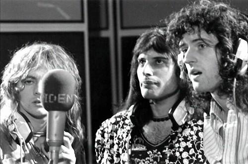 Queen @ Trident Studios - 1974
