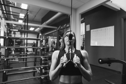 Weight Training Crossfit Fitness Model Gym Exercises