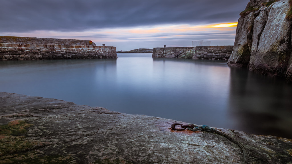 Dalkey at sunrise - Dublin, Ireland - Seascape photography