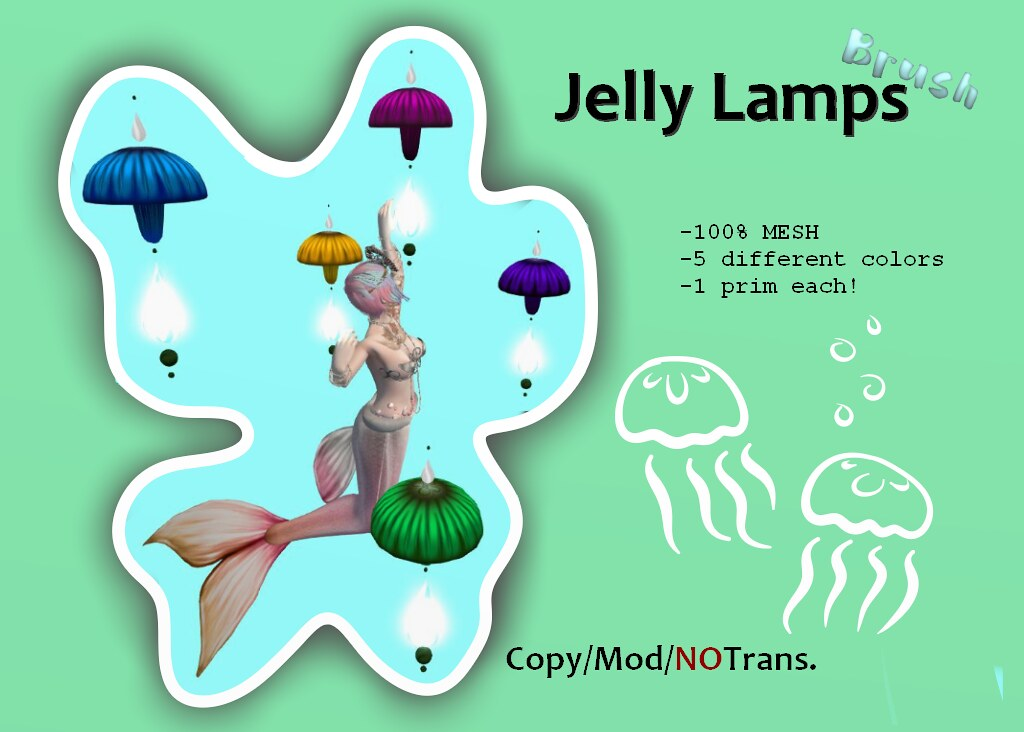 =BRUSH= Jelly Lamps - SecondLifeHub.com