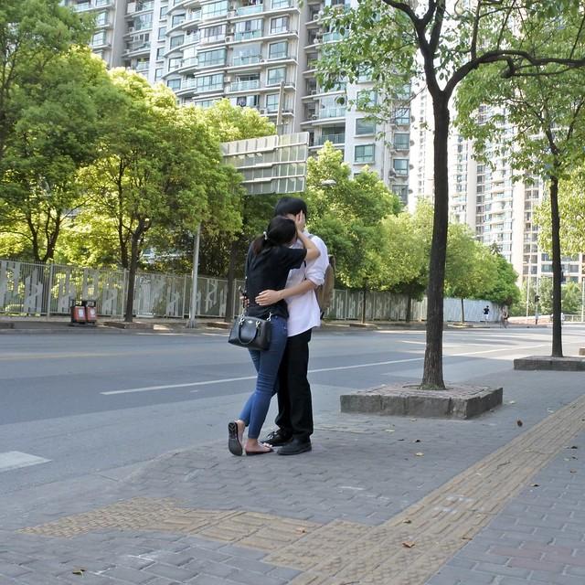 Shanghaiese kiss