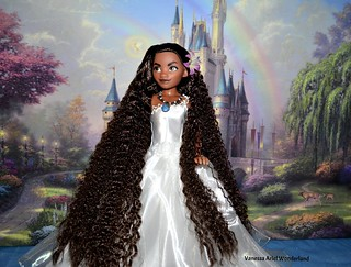Moana Limited Edition Doll Full Reroot & Restyle - Disney Store