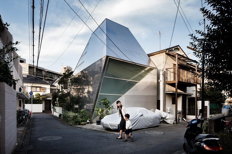 住宅密度大於高度,東京建築「怪宅」林立3