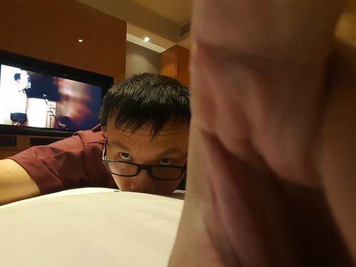 ภาพโดยกล้องหน้าของ Samsung Galaxy S6 edge