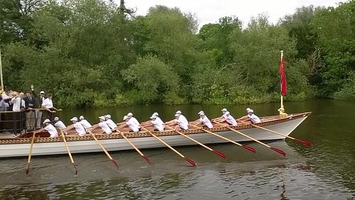 Row, row row your boat........