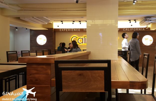 台北市大安區》東區漢堡店 加州 CaliBurger 忠孝旗艦店 美式餐廳 (梁靜茹老公投資) @Gina環球旅行生活
