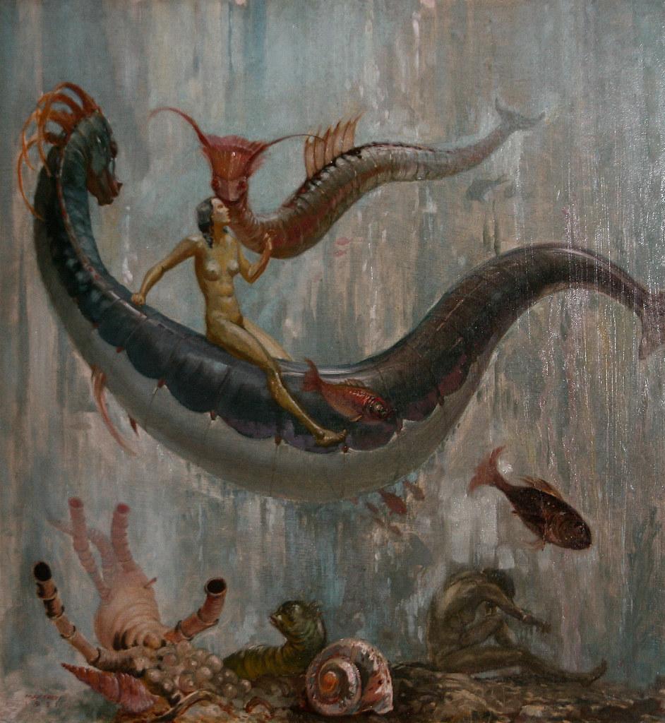Max Frey - Unterwasserszene, 1931