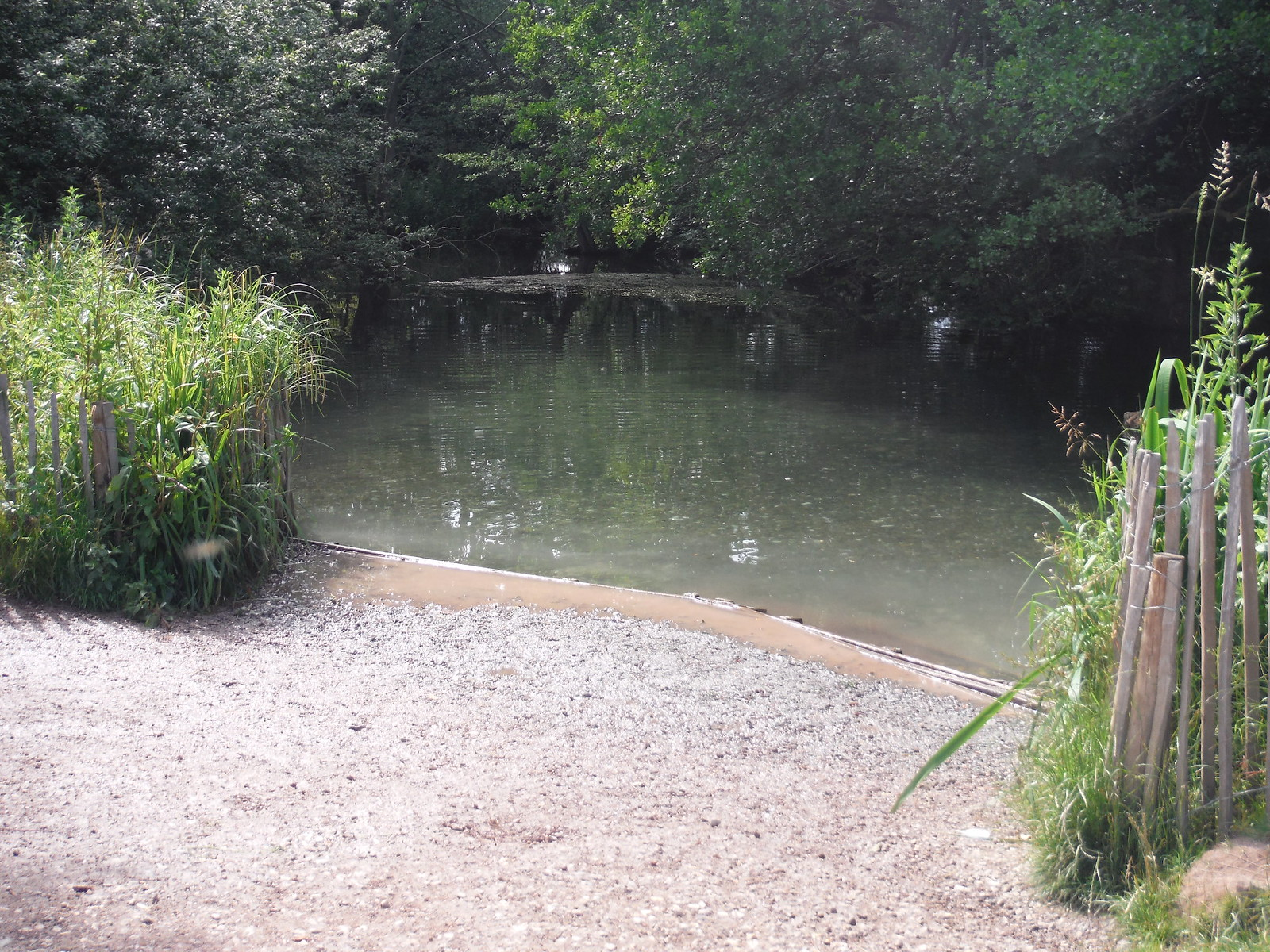 The Chalky bathing place SWC Walk 234 Hitchin Circular