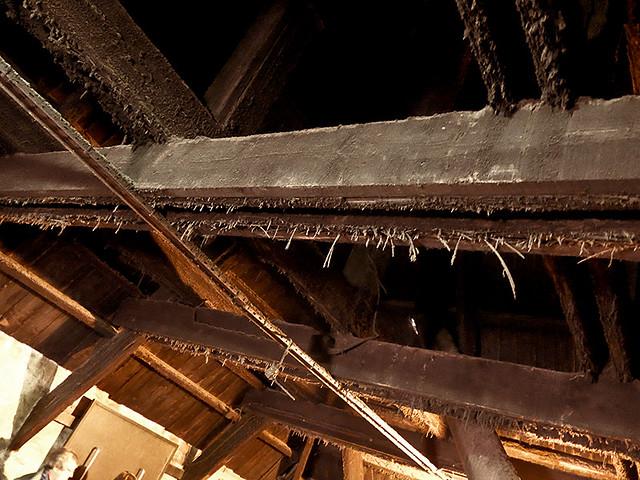 photo - Eaves of Kiln, Laphroaig Distillery