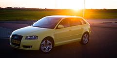 automobile(1.0), automotive exterior(1.0), audi(1.0), family car(1.0), wheel(1.0), vehicle(1.0), automotive design(1.0), audi a3(1.0), bumper(1.0), land vehicle(1.0), hatchback(1.0),