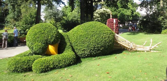 Topiary, Jardin des Plantes
