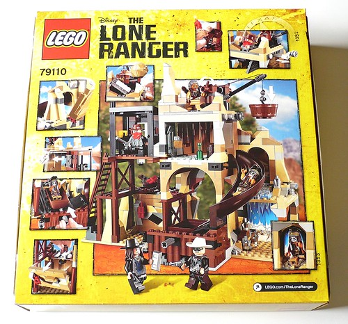 The Lone Ranger 79110 Silver Mine Shootout box02