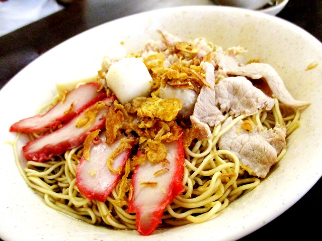 Noodle Descendents kolo mee, regular