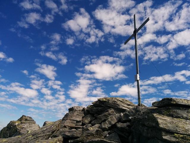 Gipfelkreuz der Dreieckspitze