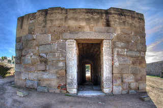 Bilde av Alcazaba de Mérida nær Mérida. romano