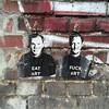 Eat Art Fuck Art #streetart #Berlin