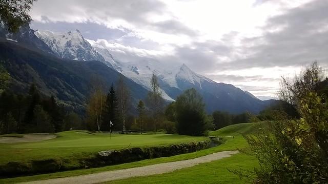 les praz golf course greens frnce