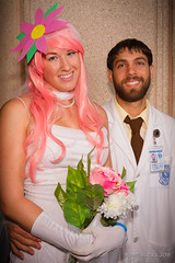 Tampa Bay Comic-Con 2015 Cosplay - ARCHER - DR. KRIEGER & VIRTUAL GIRLFRIEND