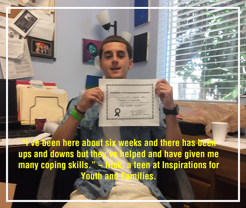Graduate in teen rehab shares his thanks to Inspirations thumbnail