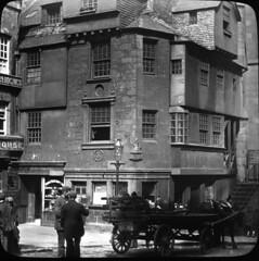 John Knox House - High Street, Edinburgh uk