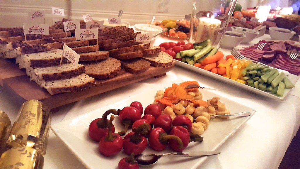 Superb Spread at the Christmas Party