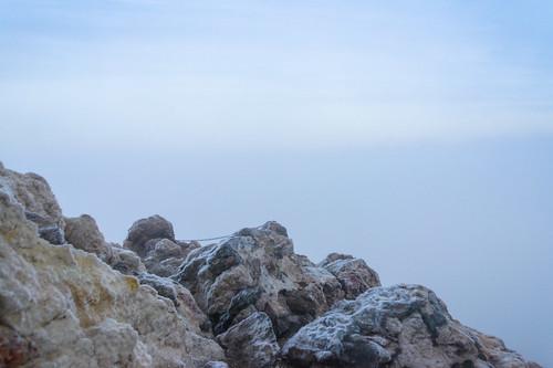 natur sunrise laorotava canarias spanien es weather cold stromy icy frosty mountain volcano fog mist clouds hiking
