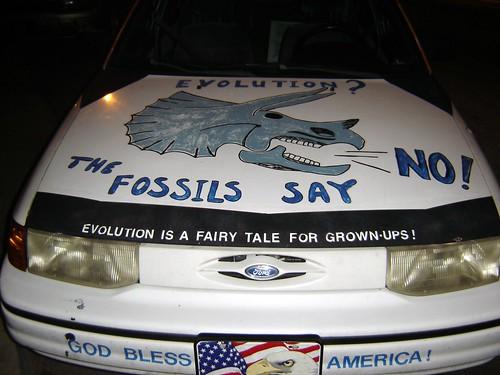 Creationist car