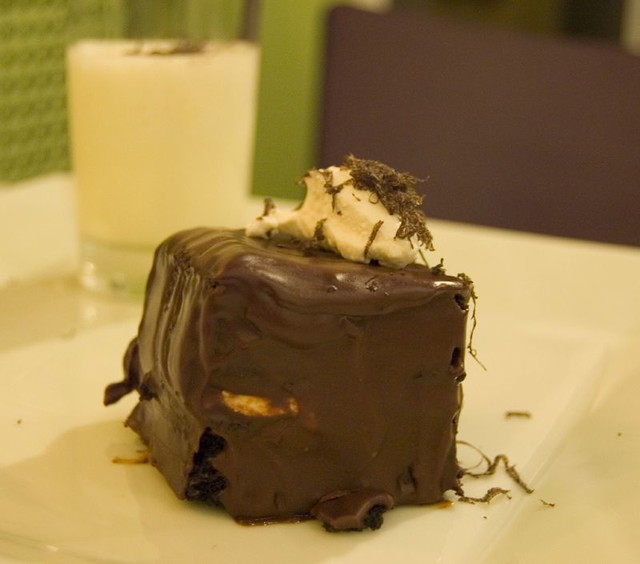 8th Course: Dessert: Chocolate, Ricotta and Truffles | Flickr - Photo ...