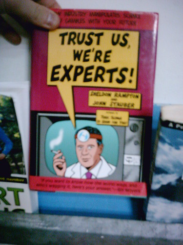 Trust the people, not just the experts btw! (Credits: phauly / FlickR)