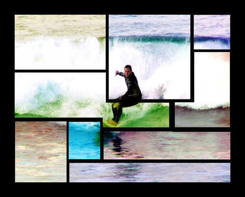 Surfer Collage.