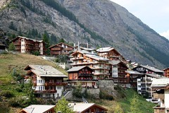 Picturesque Zermatt Village