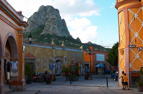 Angel Gonzalez Hereza's photo of Bernal, one of Mexico's Pueblos Magicos.