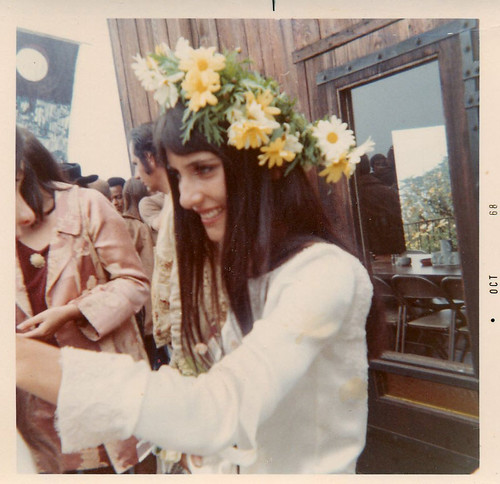 Mimi with Flowers 1968
