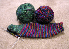 Knitting Needle and Wool - Hobbycraft