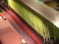 wing(0.0), interior design(0.0), escalator(0.0), string instrument(0.0), art(1.0), weaving(1.0),