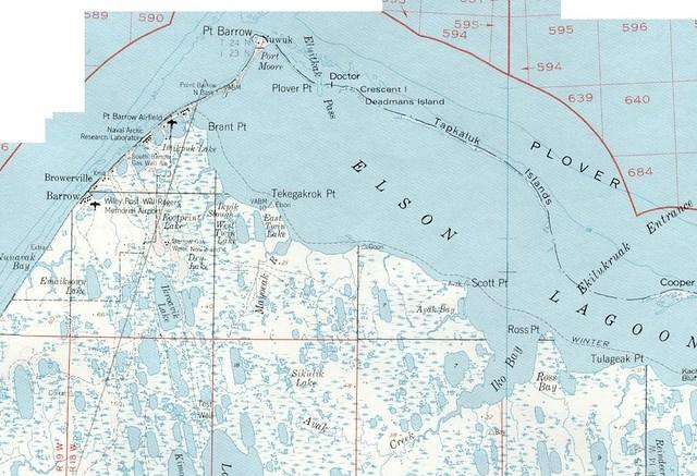 Map Of Barrow AK  Flickr  Photo Sharing