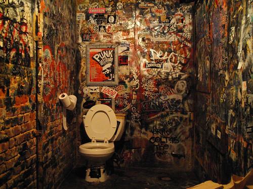 Bathroom of CBGB - 無料写真検索fotoq