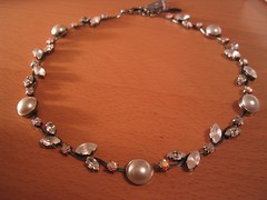 pearl, jewellery, gemstone, chain, necklace,