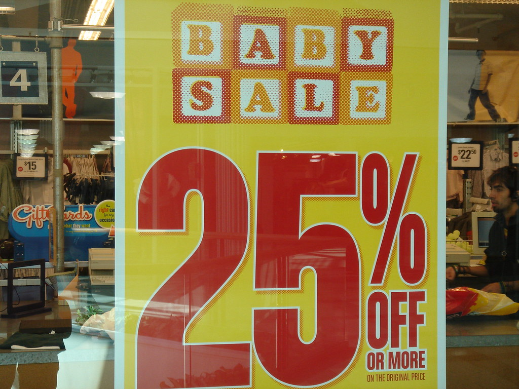 Baby Sale!